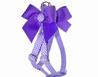 Lovin' Lavender Step In Dog Harness
