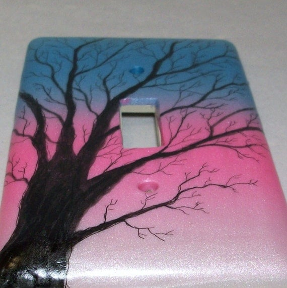 Clearance sale was 10.95 Tree Silhouette light switch cover