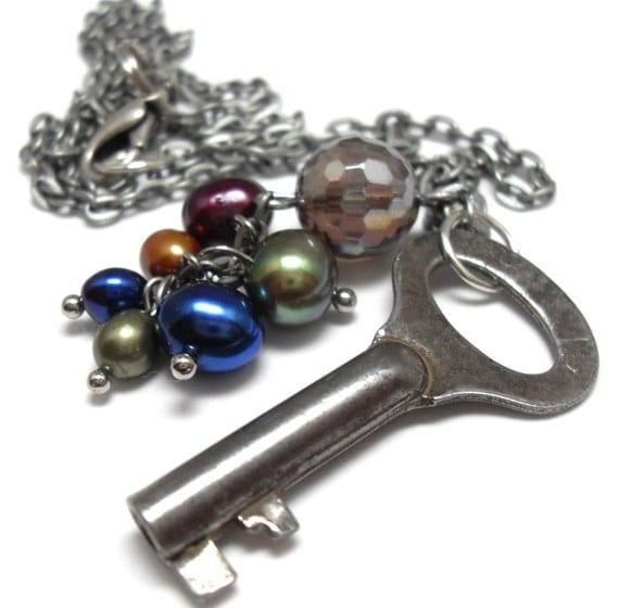 Fae Ball at Twilight Necklace