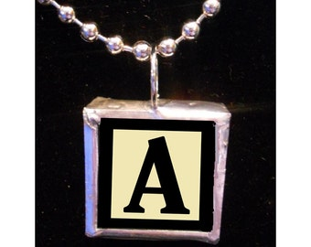 Gimme an A - Custom Monogram Solder Necklace