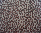 Receiving Swaddling Blanket Nursing Cover in Cheetah Animal Print  XL Extra Large