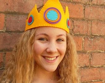 Felt Crown, King or Queen