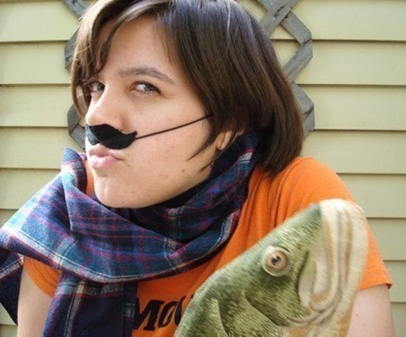Black Mustache, fun felt disguise