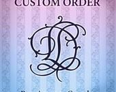 Custom Order Reserved for MKaae