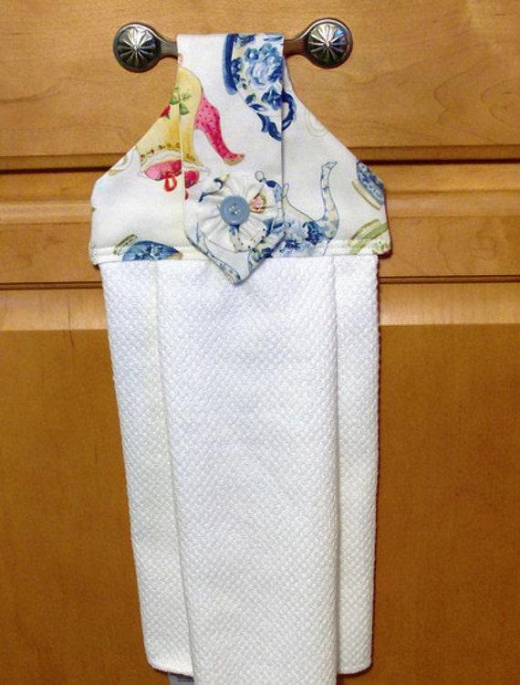 Teapots Hanging Dish Towel