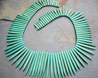 Turquoise Daggers - One Strand - B-6624