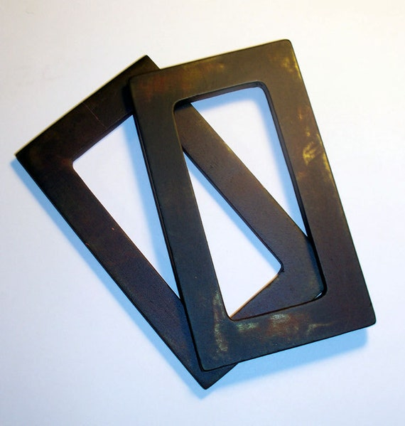 Darkwear Clothing Destash Distressed Wood Purse Handles supplies