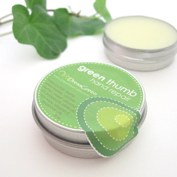Green Thumb Hand Repair - Natural Moisture for Thirsty Hands, Travel Size