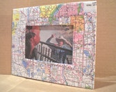 Picture Frame - Minnesota and Quebec Map - recycled