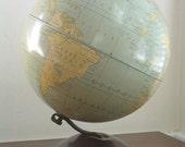 Vintage globe by Replogle Globes Inc