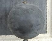 Vintage chalk globe