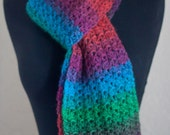 Bright Variegated Scarf