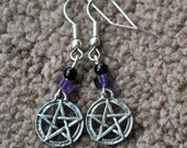 Pentagram/pentacle earrings