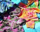 Waldorf Doll Clothes: LWI dyed Cotton Velour in your choice of 5 Styles and Colors