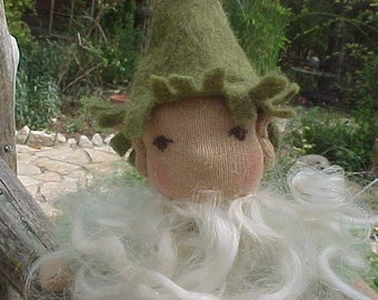 A Gnome of Your Own - Waldorf doll - Little Gandalf