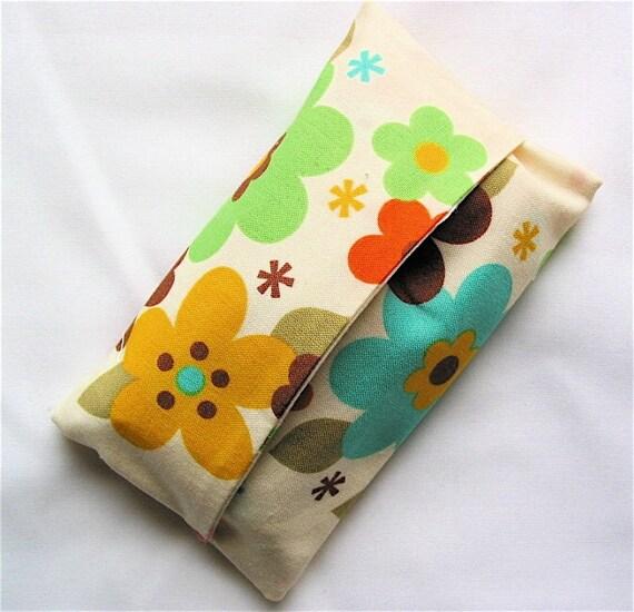 Spring Flowers Tissue Holder