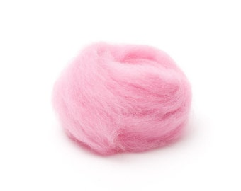 Candy Wool Roving for Felting - 1 oz. Corriedale