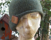 Coy Felted Cloche - A Felted Wool Cloche Knitting PATTERN PDF