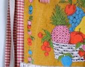 vintage mix - market apron