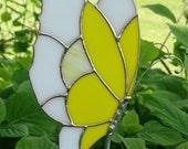 Yellow Butterfly Garden Stake