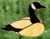 Stained Glass Canadian Goose