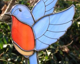 Bluebird Garden Stake