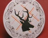 Antler Letterpress Coasters (free shipping)