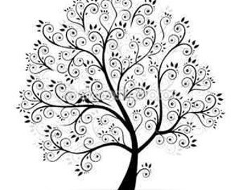 Tree Cross Stitch Pattern PDF