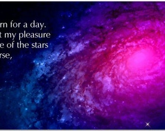 The Multitiude Of Stars by Ptolemy 150 AD - Inspiring 8 inch Magnet #2779