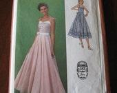 Vintage 70s Simplicity 9008 Gunne Sax Sun Dress Pattern sz 6 8