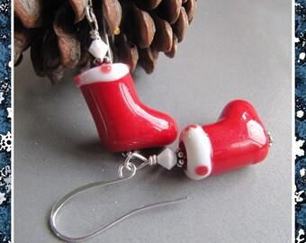 Cornerstoregoddess Christmas Stocking Stuffer Christmas Stocking Earrings