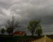 Stormy Homestead - Original Fine Art Photograph 5x7