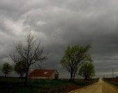 Stormy Homestead - Original Fine Art Photograph 5x7