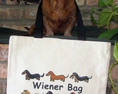 Dachshund Wiener Bag Tote Bag