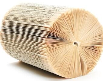 Cylinder Book Sculpture