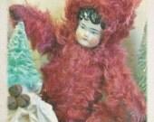German Mohair Snow Baby Art Doll by Shari Replogle