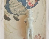 Vintage Salvaged German Doll Body  Frozen Charlotte for Assemblage Jewelry ALtered or  Mixed Media Art