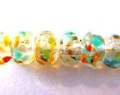 11 Little Bit O Fun Handmade Lampwork Beads SRA Artistic Offerings