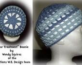 Star Treatment Crochet Beanie Pattern PDF