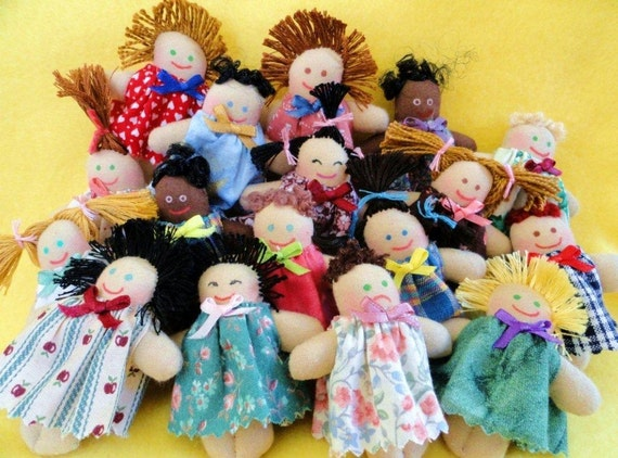 Mini Dolls Pocket Pals - Toy Dolls
