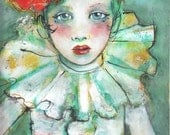 Limited Edition ACEO art reproduction - Sad Song 11/50