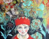 Make Believe -ACEO  Open edition reproduction by Maria Pace-Wynters