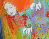 """To Call Myself Beloved-  9""""x12"""" Fine Art Reproducion  by Maria Pace-Wynters"""