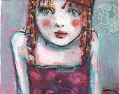 ACEO Circus Girl