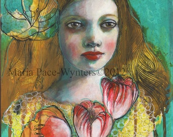 ACEO art reproduction -Is That Spring