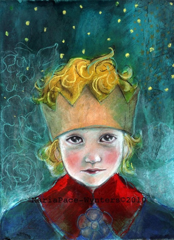 ACEO art reproduction - The Little Prince