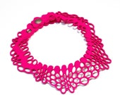 Radial Necklace II pink