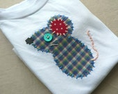Mouse Applique Onesie or Shirt Custom Size and Colors