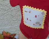 Reserved for Coopahsmum Little Red Riding Hood Onesie Sale