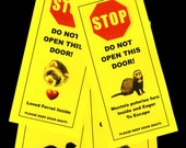 Ferret Friendly Door Alerts Keeps Your Small Pet Safe